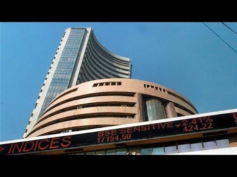 Sensex flat, Rupee depreciates by 12 paise