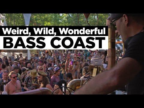 Weird, Wild, Wonderful Bass Coast Music Festival