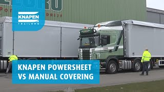 Powersheet versus Manual Covering Video