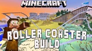 Minecraft: Roller Coaster Structure Design Layout   (Scarland Coaster Build Ep.24)