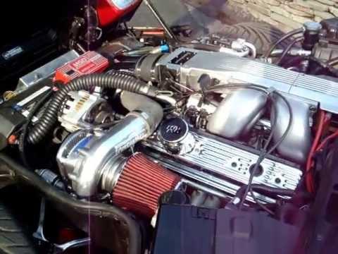 supercharged  C4 corvette