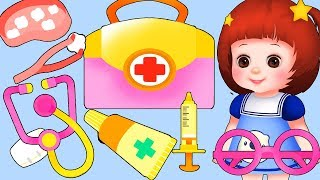 Baby Doli hopital Doctor play and baby doll toys play