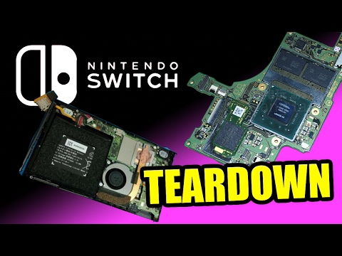 Nintendo Switch Teardown!