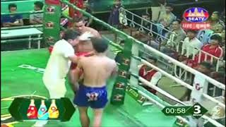 Lao Chantrea(Cam) vs Khumpith(Thai) | Kun Khmer Boxing 06-10-2018