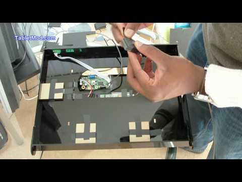 DIY Cintiq Intuos4 Large Enclosure Assembly. Part 4 of 4