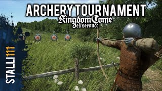 ★Kingdom Come: Deliverance | Archery Tournament (Archery Combat Gameplay)
