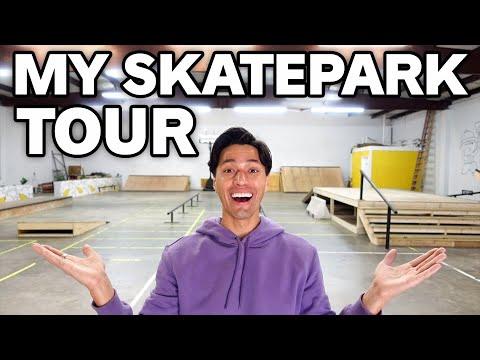 TOURING MY NEW SKATEPARK! *2021*