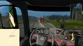 ETS2Map Live Route Tracking - Testing 4 (with TuxyQ)