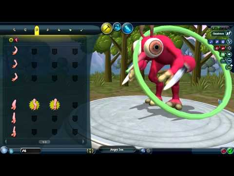 Spore Gameplay - Angry Joe has feet
