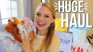 HUGE HAUL!! Affordable clothes + fall trends