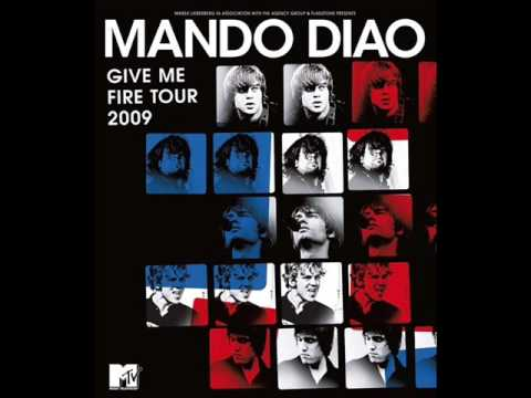 Mando Diao - If I don't live today, then I might be here tomorrow live Offenbach 19.03.2009