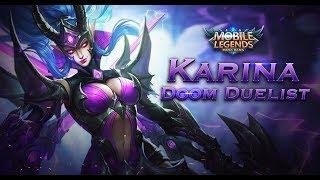Mobile Legends: Bang Bang! Karina New Skin | Doom Duelist |
