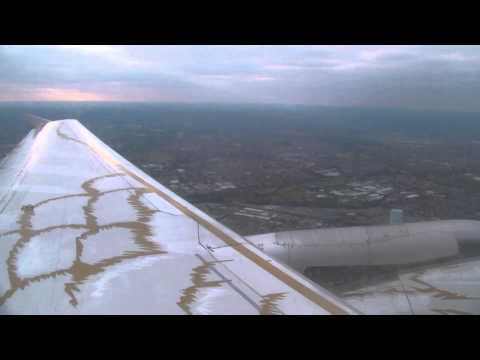 British Airways Airbus A319 Takeoff from London Heathrow