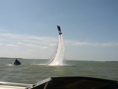 Flyboard on Lake Lewisville