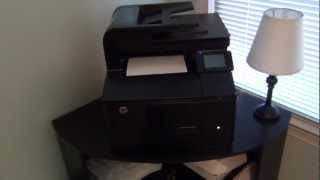 HP Laserjet Pro 200 Colour MFP M276nw Demonstration