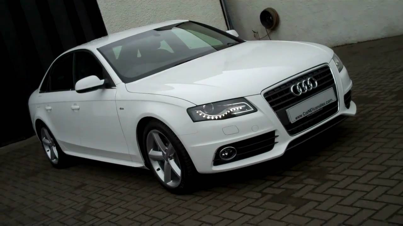 New 2011 audi a4 2 0tdi 136 s line 4dr youtube for S line exterieurpaket a4