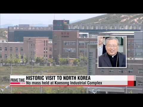 South Korean cardinal makes historic visit to North Korea