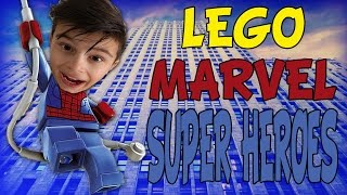 IRON MAN STAAT TE DANSEN | Lego Marvel Super Heroes