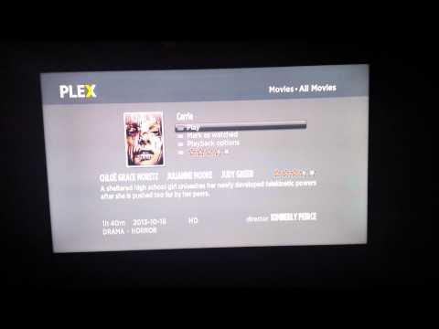 Plex on Roku 3 (Very Quick Look)