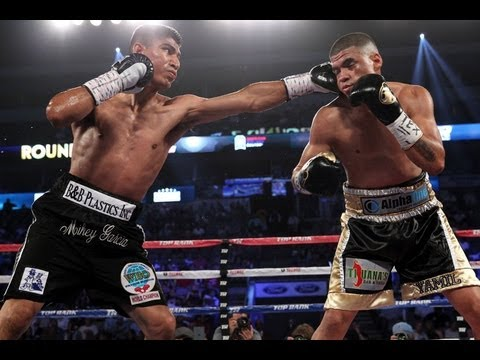 Mikey Garcia vs JuanMa Lopez, Garcia smokes Lopez in 4 rounds, explains weigh in issue [S2D]