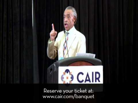 Video: Civil Rights Icon Al Sharpton to Keynote CAIR Banquet