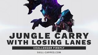 This Challenger Jungler prioritizes one thing to carry his losing lanes | SkillCapped