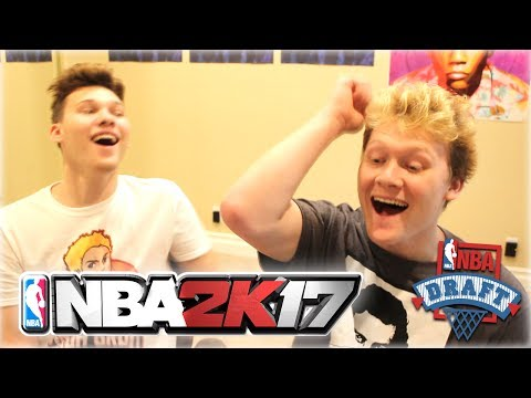 EPIC REAL LIFE DRAFT 'N' PLAY vs. JESSERTHELAZER WITH FORFEIT!!! | NBA 2K17
