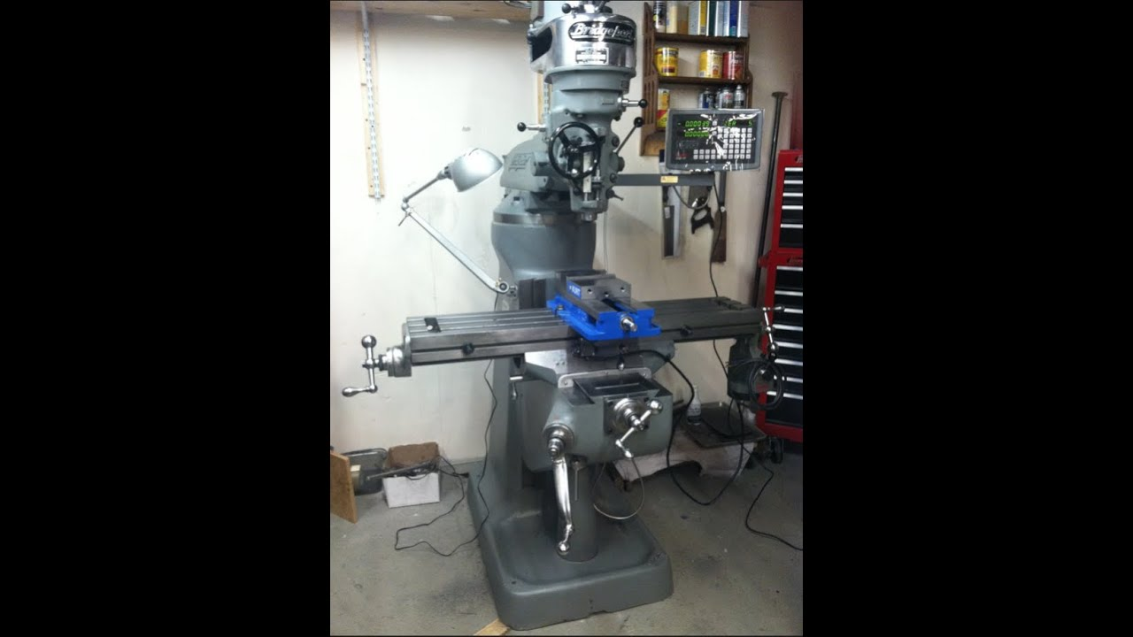 Machinery Restoration 5 Bridgeport Milling Machine Youtube