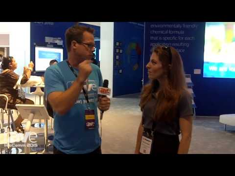 InfoComm 2015: Gary Kayye Interviews Melissa Rone, Senior Marketing Manager for Da-Lite