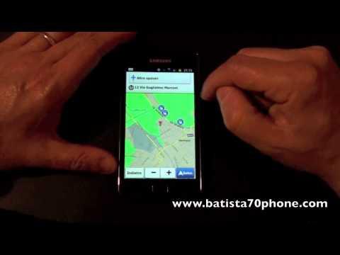 Funzione Luoghi nel Browser su Samsung Galaxy S2 by batista70phone