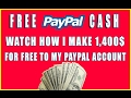 How To Make Free PayPal Money Online Without Investment 2017 mp3