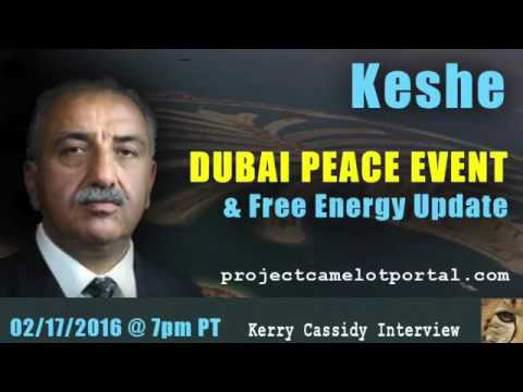 PROJECT CAMELOT   KESHE    DUBAI PEACE EVENT & FREE ENERGY UPDATE   YouTube 360p
