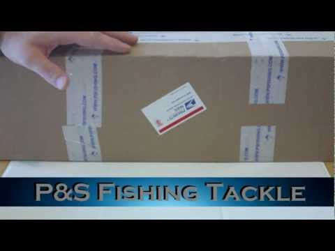 P&S Fishing Tackle Unboxing - Backpacking Rod & Reel