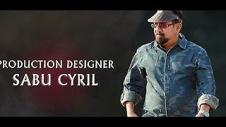 Special AV on Sabu Cyril || #Baahubali2