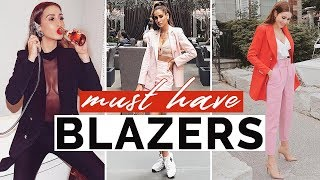 9 Must Have Blazers Every Girl Needs