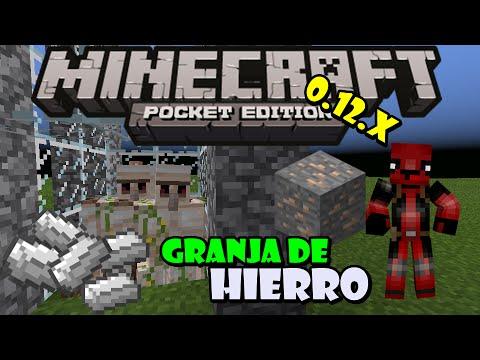 Minecraft Pe 0.15.0   Granja De Hierro (Golems)  Como Hacer Una Granja De Hierro En Mcpe 0.15.0