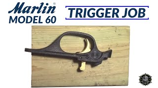 Marlin Model 60 Trigger Job | MCARBO Marlin 60 Trigger Job | Marlin Model 60 Trigger Kit