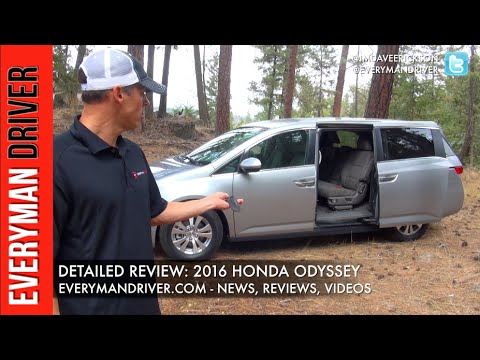 Here's the 2016 Honda Odyssey Review on Everyman Driver