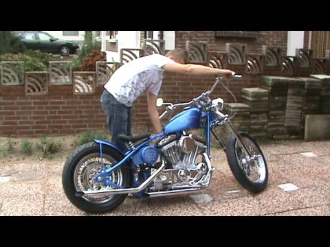 Harley Davidson,bobber, sportster