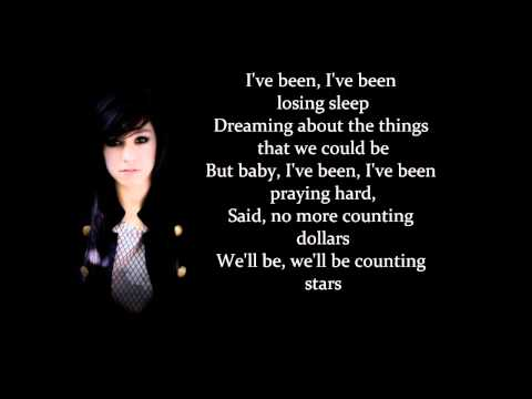 Christina Grimmie singing Counting Stars by OneRepublic (cover)
