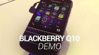 BlackBerry Q10 Demo