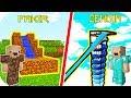 ZENGİN SU KAYDIRAĞI VS FAKİR SU KAYDIRAĞI! 😱 Minecraft