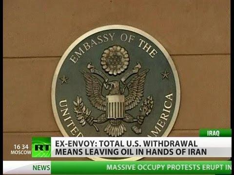 Fake Withdrawal? 'US won't leave Iraq oil to Iran'