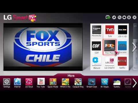 Conoce el nuevo contenido de Fox Play para LG Smart TV