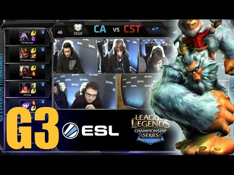Curse Academy vs Team Coast | Game 3 Round 1 NA LCS Expansion Tournament | CA vs CST G3 60FPS