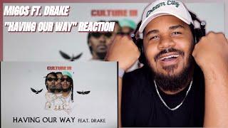 download lagu Migos Feat. Drake - Having Our Way ( Audio) REACTION mp3