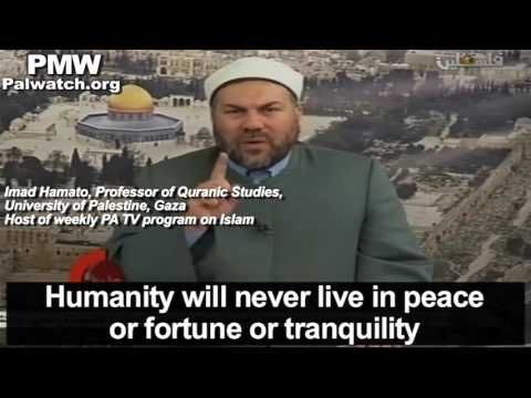 """Jews are causing devastating corruption throughout the land"" - Muslim preacher on PA TV"