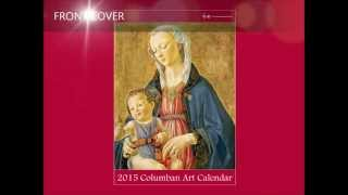 Columban - 2015 Calendar Art Guide - Front Cover