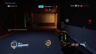 Overwatch   Trying Sombra - Season 17 Placements (PS4)