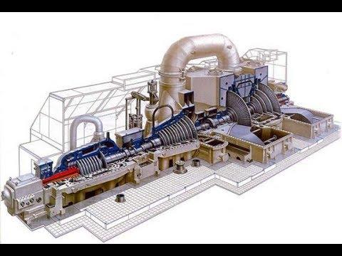Работа и конструкция паровой турбины